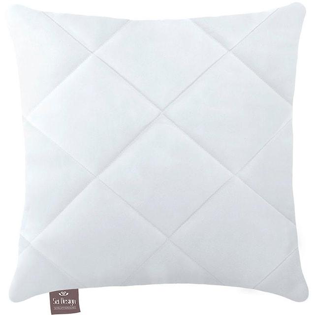 Microfaserkissen, »Classic Dream«, SEI Design, Füllung: 100% Polyester, Bezug: 100% Polyester