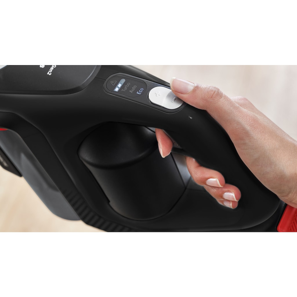 BOSCH Akku-Stielstaubsauger »BKS8214W Unlimited Serie | 8 Gen2,«, 45 Min Laufzeit, Hygienefilter, inkl. XXL-Polsterdüse und flexibler Fugendüse, weiß