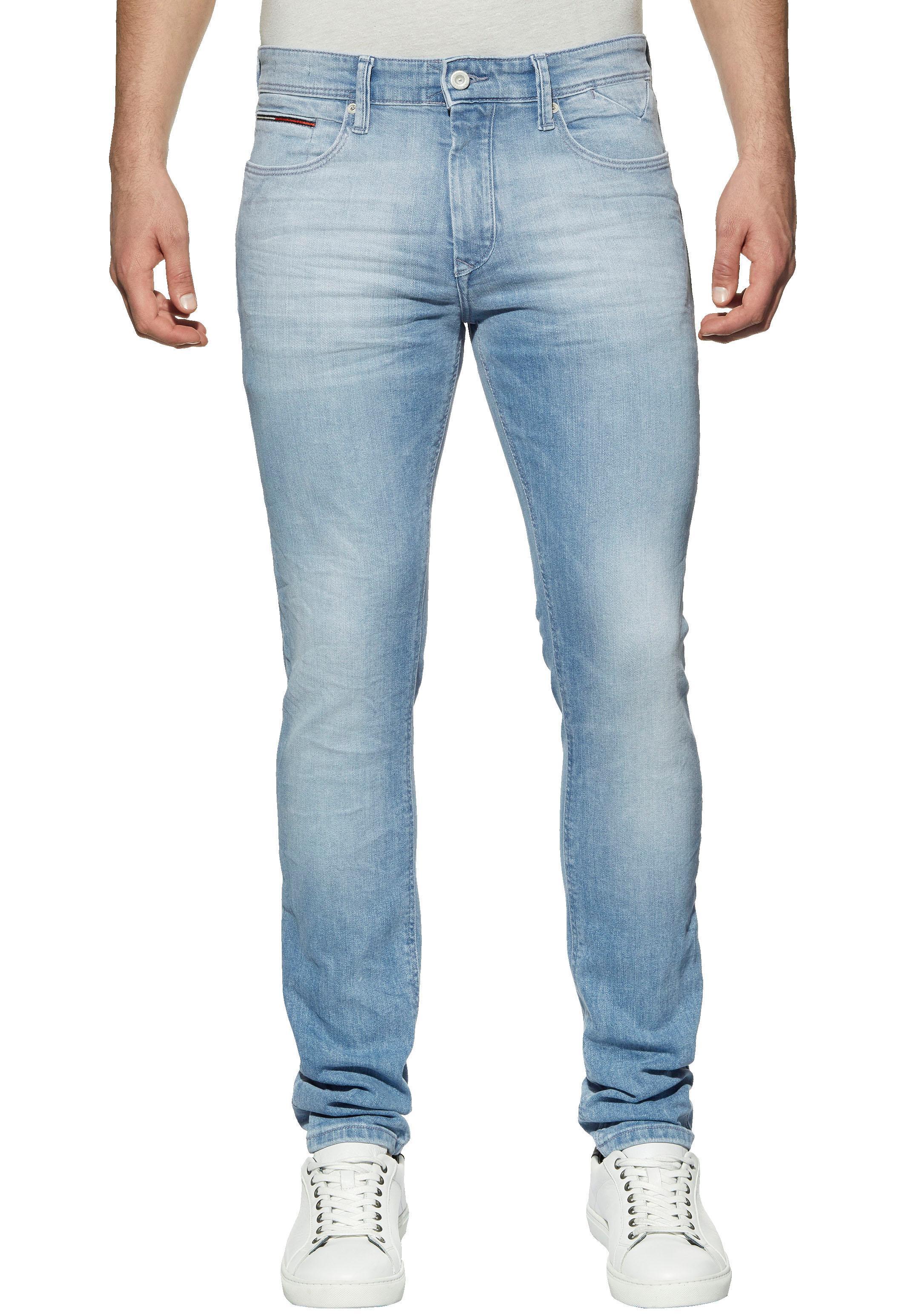 TOMMY JEANS Slim-fit-Jeans SLIM TAPERED STEVE | Bekleidung > Jeans > Slim Fit Jeans | Blau | Tommy Jeans