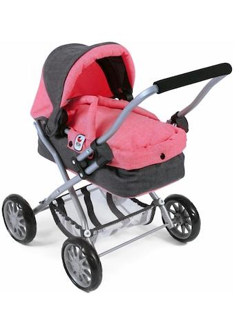 """CHIC2000 Puppenwagen """"Smarty anthrazit - pink"""" kaufen"""