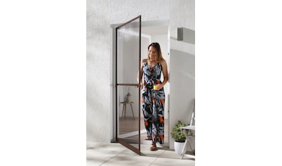 HECHT Insektenschutz - Tür »MASTER SLIM+«, braun/anthrazit, BxH: 100x210 cm kaufen