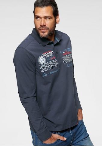 Man's World Langarm - Poloshirt kaufen