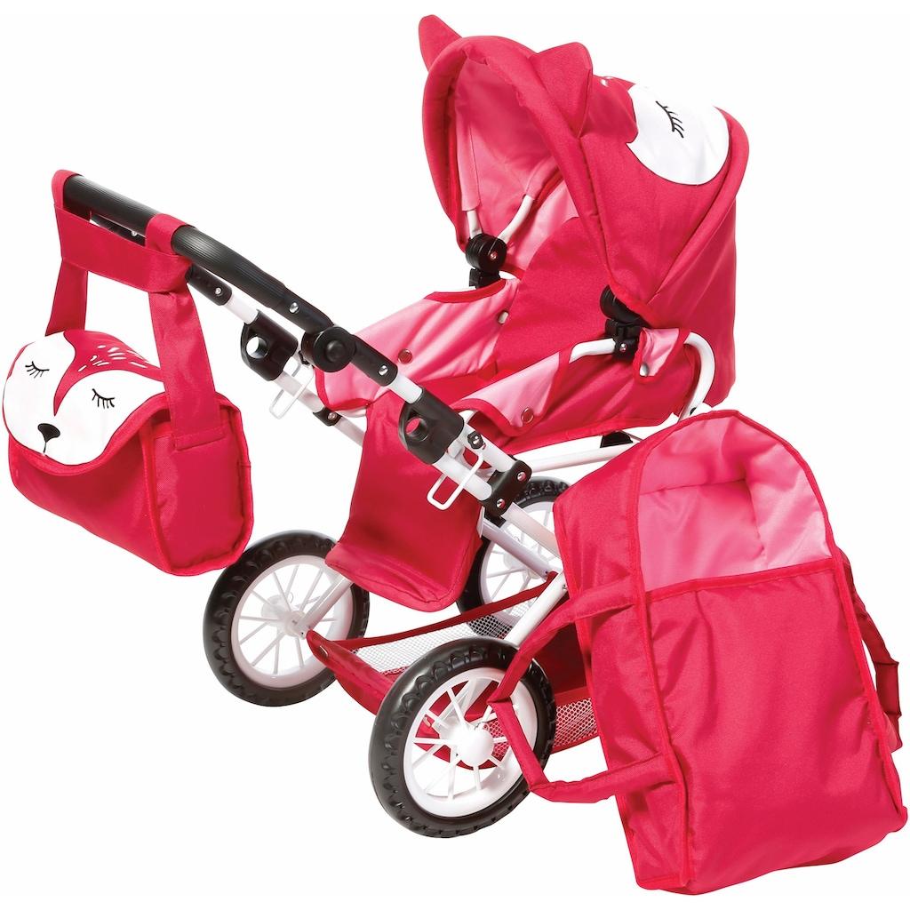 Knorrtoys® Kombi-Puppenwagen »Ruby Foxx«