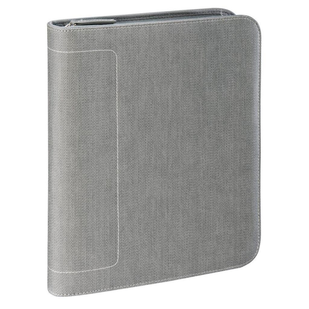"Hama est. 1923 1923 Tablet-Organizer A5 ""Hannover"", Light-Grey"