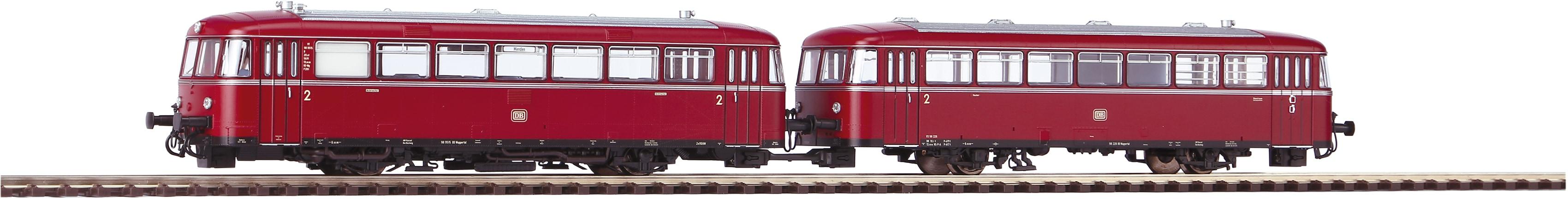 PIKO Personenwagen VT 98 und VS 98, (52724) rot Kinder Loks Wägen Modelleisenbahnen Autos, Eisenbahn Modellbau