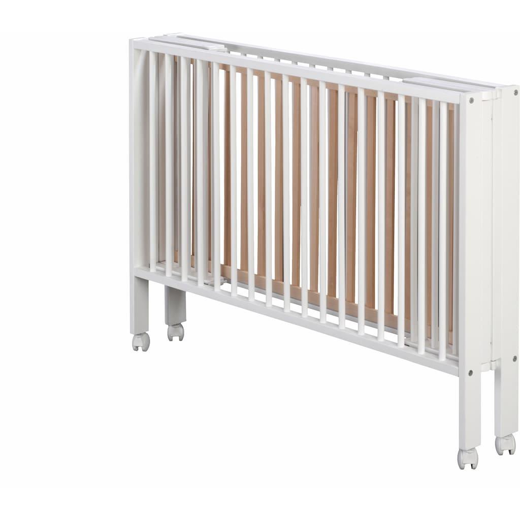 tiSsi® Babybett »Weiß«, Made in Europe
