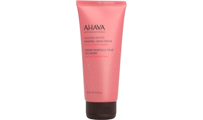 "AHAVA Handcreme ""Deadsea Water Mineral Hand Cream Cactus Pink Pepper"" kaufen"