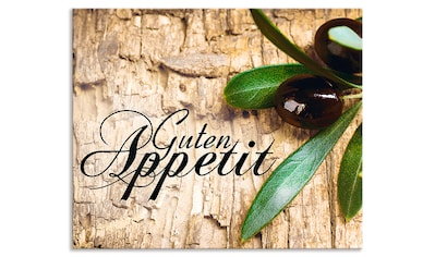 "Artland Küchenrückwand ""Oliven Guten Appetit"", (1 - tlg.) kaufen"