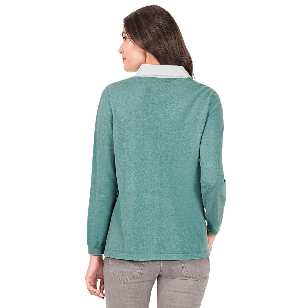 Inspirationen 2-in-1-Pullover »Pullover«