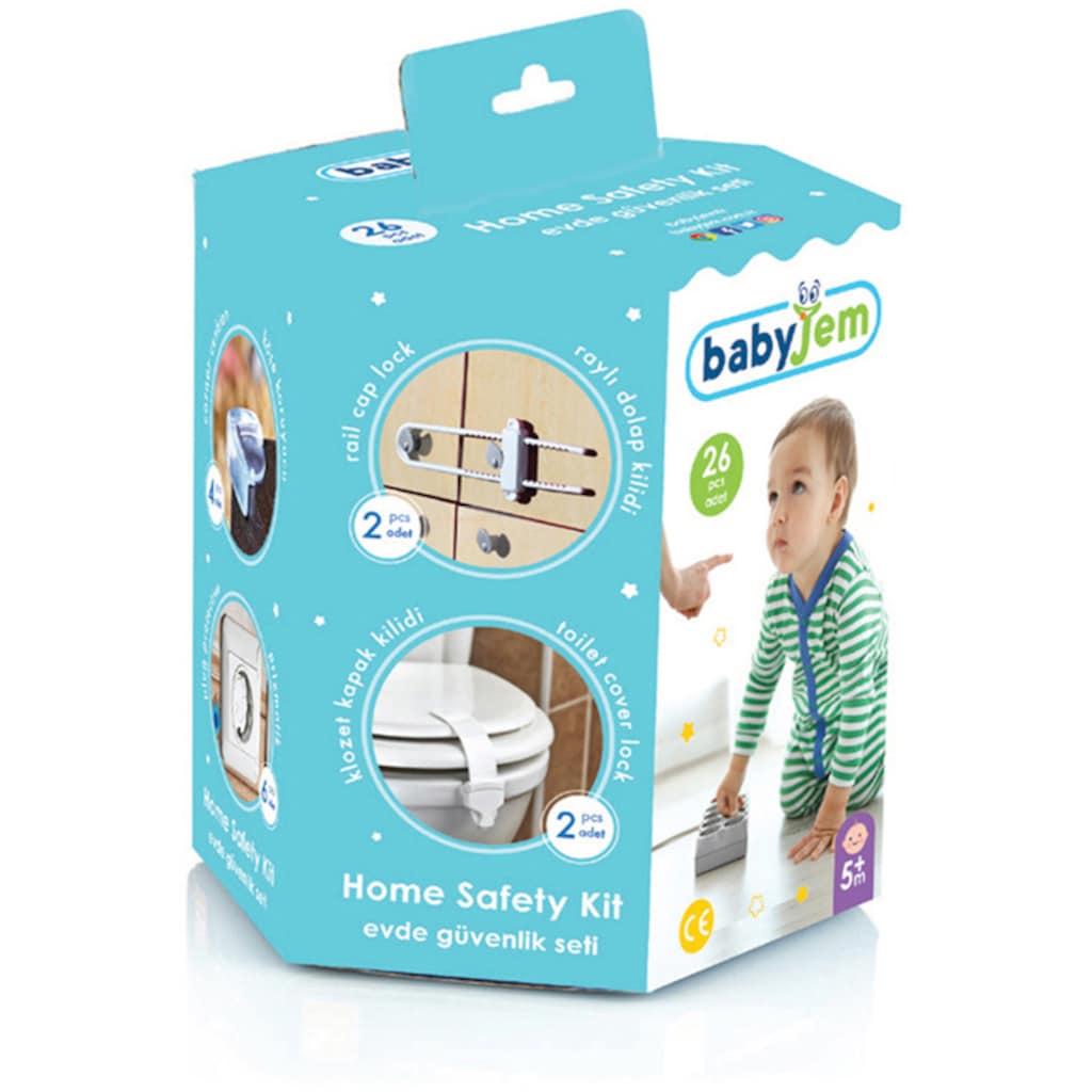 Babyjem Kindersicherung »Sicherheitsset für Babys«, (Set, 26 St.), Made in Europe