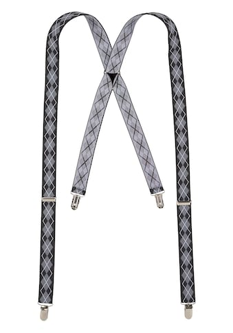J.Jayz Hosenträger, (1 St.), mit Clipverschluß, Rauten Muster, Verstellbar kaufen