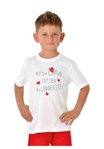 Trigema T - Shirt Opas Liebling kaufen