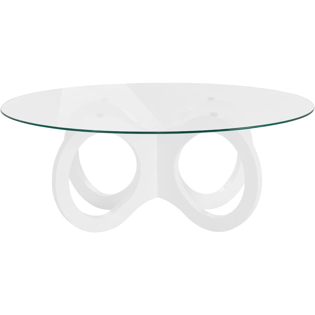 INOSIGN Couchtisch, in ovaler Form, elegant