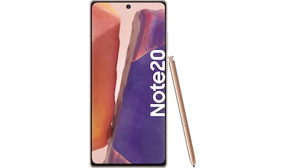 Samsung Galaxy Note20 Smartphone (16,95 cm / 6,7 Zoll, 256 GB, 64 MP Kamera) kaufen