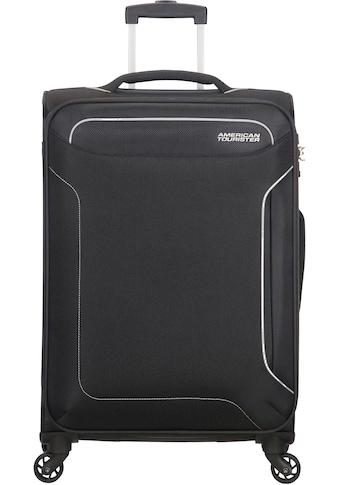 American Tourister® Weichgepäck-Trolley »Holiday Heat, 67 cm, black«, 4 Rollen kaufen