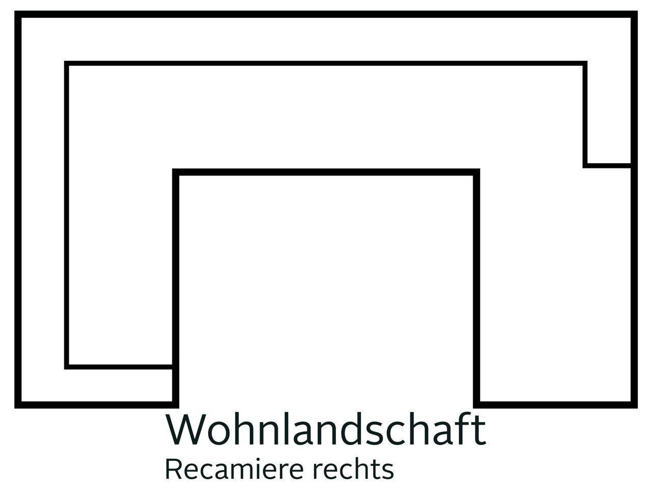 DELAVITA Wohnlandschaft Lotus | Wohnzimmer > Sofas & Couches > Wohnlandschaften | Delavita