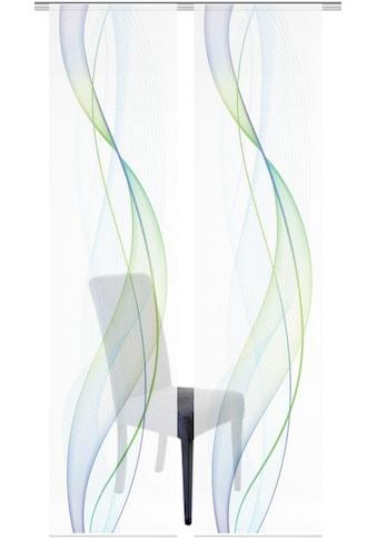 Vision S Schiebegardine »2ER SET HEIGHTS«, HxB: 260x60, Schiebevorhang 2er Set Digitaldruck kaufen