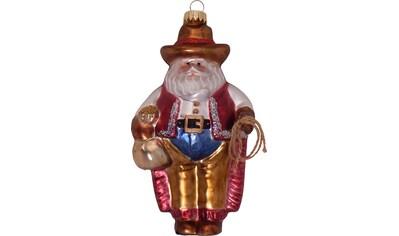 """Krebs Glas Lauscha Christbaumschmuck """"Cowboy Weihnachtsmann"""" (1 - teilig) kaufen"""