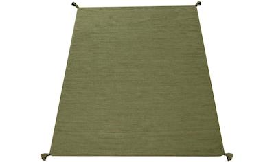 Paco Home Teppich »Kilim 210«, rechteckig, 13 mm Höhe, hangefertigter Web-Teppich mit... kaufen