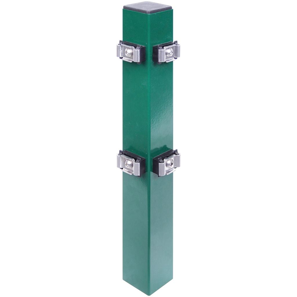 GAH Alberts Eckpfosten, inkl. Klemmlasche, grün, 175 cm