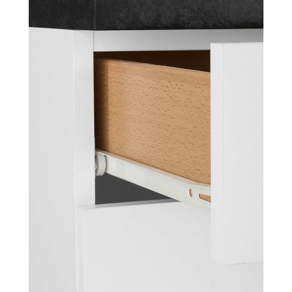 OPTIFIT Unterschrank »Iver«, Breite 100 cm, 2 Türen und 2 Schubkästen, mit 38 mm starker Arbeitsplatte