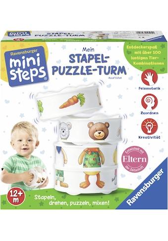 "Ravensburger Stapelspielzeug ""ministeps Mein Stapel - Puzzle - Turm"" kaufen"