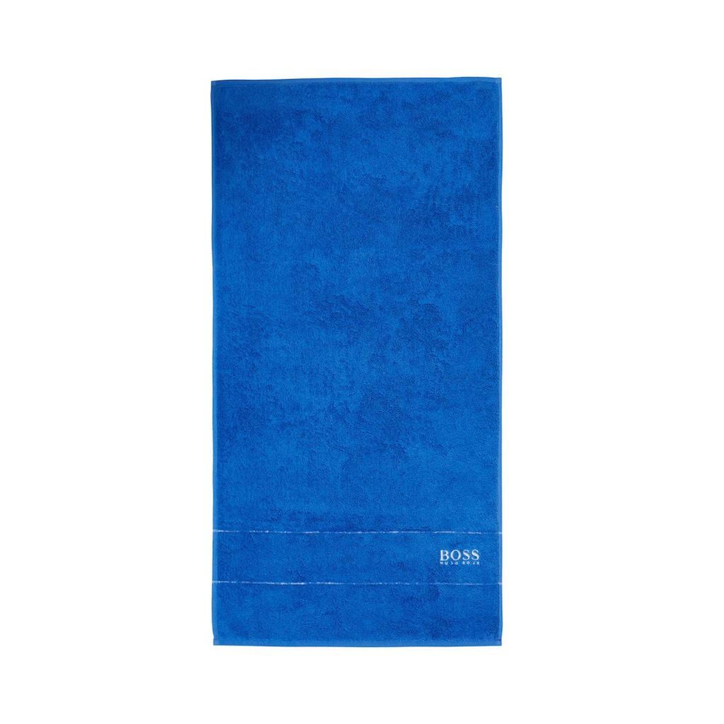 Hugo Boss Home Handtuch »PLAIN 2-tlg.«, (2 St.), 100 x 50 cm