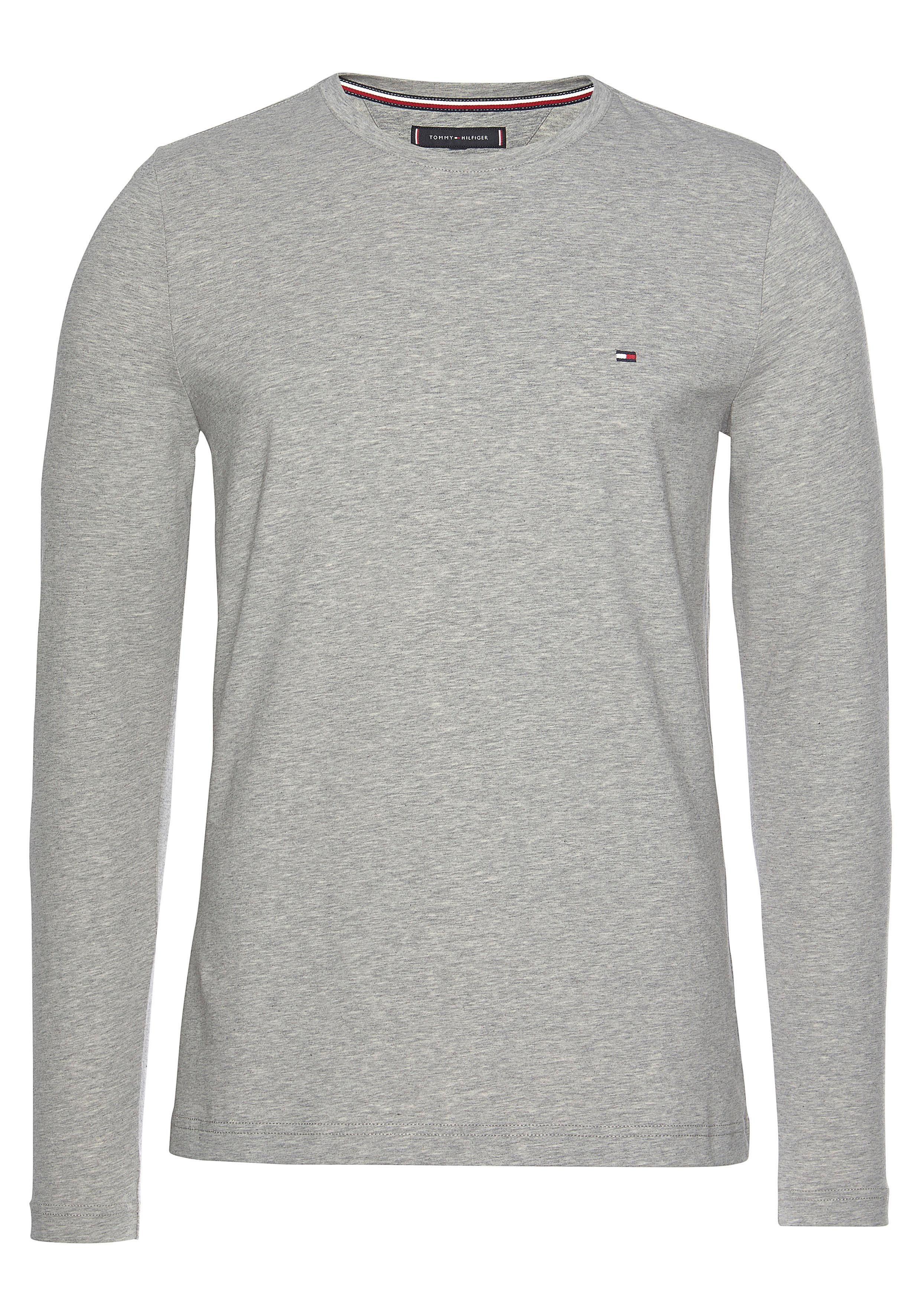TOMMY HILFIGER Langarmshirt STRETCH SLIM FIT LONG SLEEVE   Bekleidung > Shirts > Langarm Shirts   Tommy Hilfiger