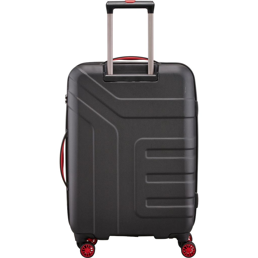 travelite Hartschalen-Trolley »Vector, 70 cm«, 4 Rollen, Erweiterbar