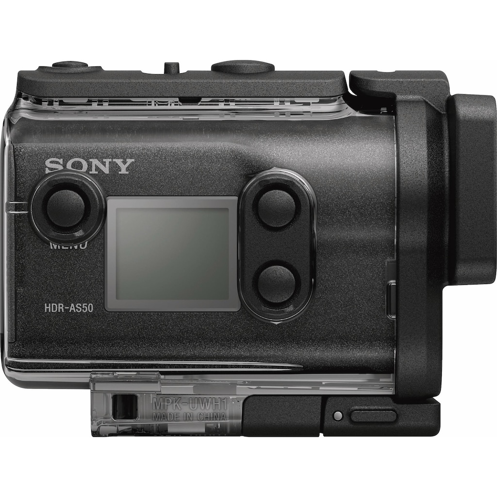 Sony Action Cam »HDR-AS50 1080p (Full HD)«, Full HD, WLAN (Wi-Fi)-Bluetooth, 3x opt. Zoom