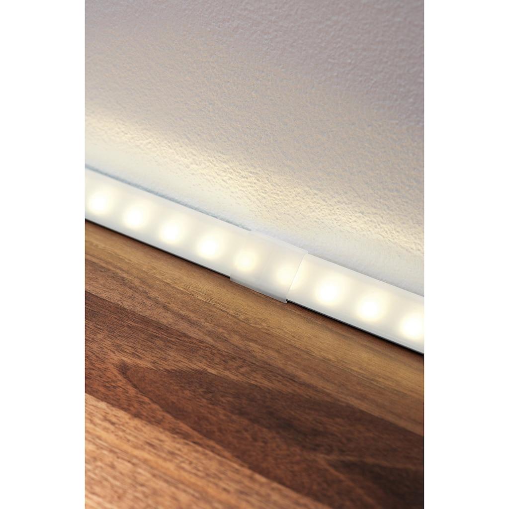 Paulmann LED-Streifen »Delta Profil Cover 4er Pack Satin, Kunststoff Satin, Kunststoff«