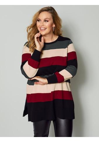 Sara Lindholm by Happy Size Rundhalspullover kaufen