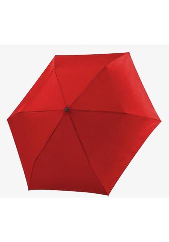 """doppler® Taschenregenschirm """"Fiber Havanna uni, Red"""" kaufen"""