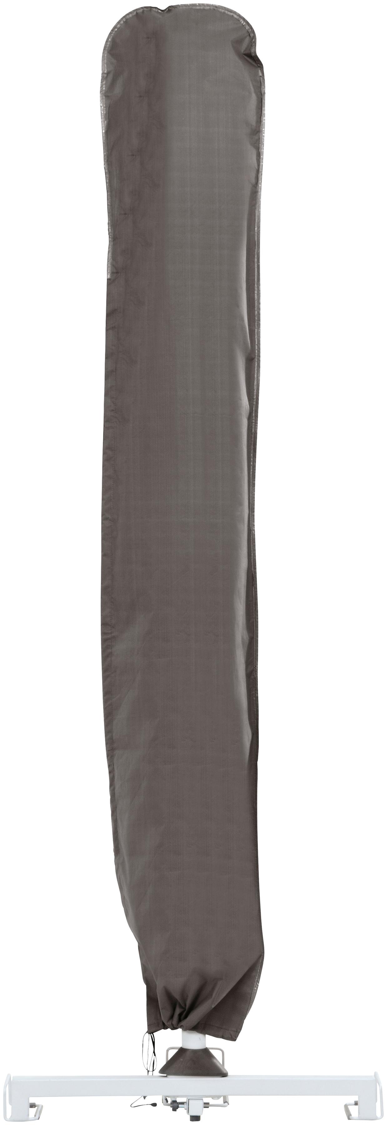 Best Schutzplane, (L/B): ca. 220x30 cm grau Gartenmöbel-Schutzhüllen Gartenmöbel Gartendeko Schutzplane