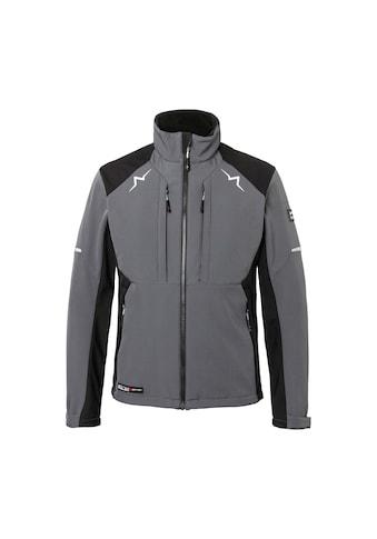 Kübler Softshelljacke »KÜBLER PULSE Softshell Jacke; anthrazit schwarz« kaufen