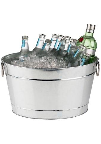 APS Wein- und Sektkühler »Tin«, aus Metall mit Kunststoffeinsatz, Volumen 11 Liter kaufen