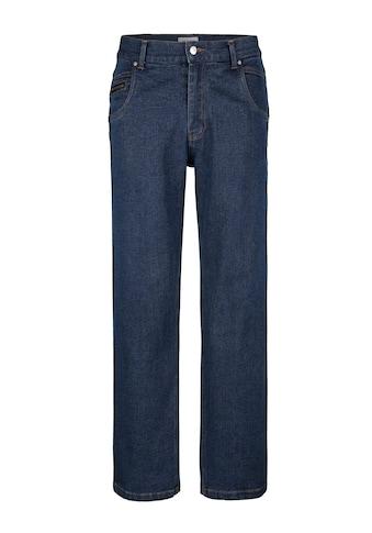 Roger Kent 5 - Pocket Jeans mit Einsätzen in Lederoptik kaufen