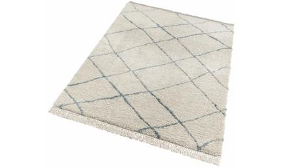 Hochflor - Teppich, »Primrose«, freundin Home Collection, rechteckig, Höhe 35 mm, maschinell gewebt kaufen