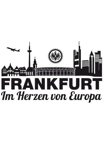 Wall - Art Wandtattoo »Fußball Eintracht Frankfurt Skyline« (1 Stück) kaufen