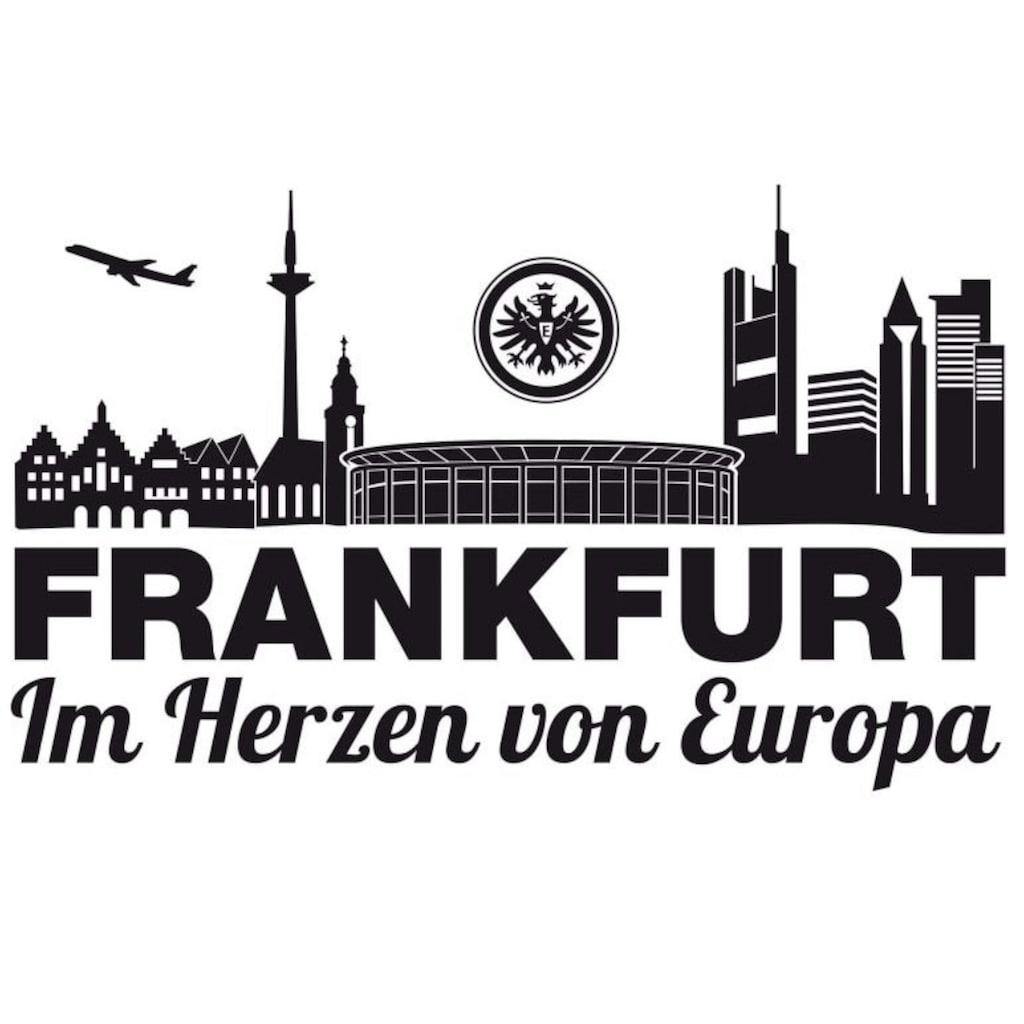 Wall-Art Wandtattoo »Fußball Eintracht Frankfurt Skyline«