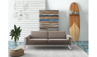 machalke® 3-Sitzer »frame«, mit Kufe silberfarben kaufen