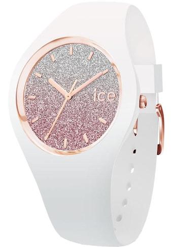 ice - watch Quarzuhr »ICE lo  -  White pink  -  Small  -  3H, 013427« kaufen