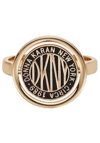 DKNY Fingerring »Spinner Logo Token RG  -  55 (GL), 5520038, 5520039« kaufen