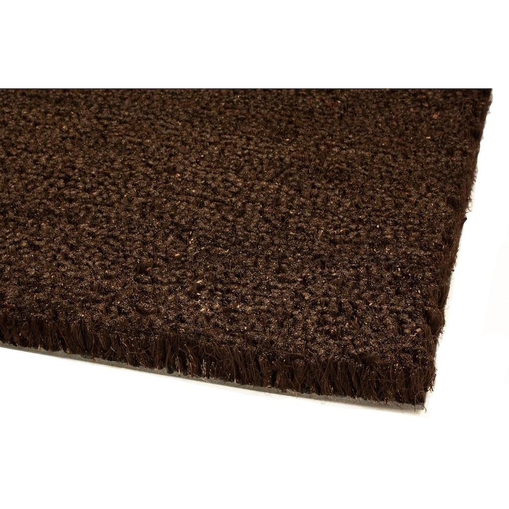 Primaflor-Ideen in Textil Fußmatte »KOKOS«, rechteckig, 17 mm Höhe, Fussabstreifer, Fussabtreter, Schmutzfangläufer, Schmutzfangmatte, Schmutzfangteppich, Schmutzmatte, Türmatte, Türvorleger, Kokosmatte, In- und Outdoor geeignet