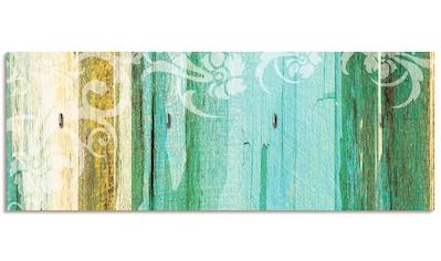 Artland Schlüsselbrett »Blumenornamente im modernen Stil« kaufen