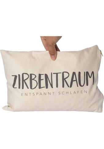 herbalind Zirbenkissen »Zirbenkissen Zirbentraum«, (1 tlg.) kaufen