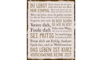 Reinders! Deco-Panel »Das Leben« kaufen