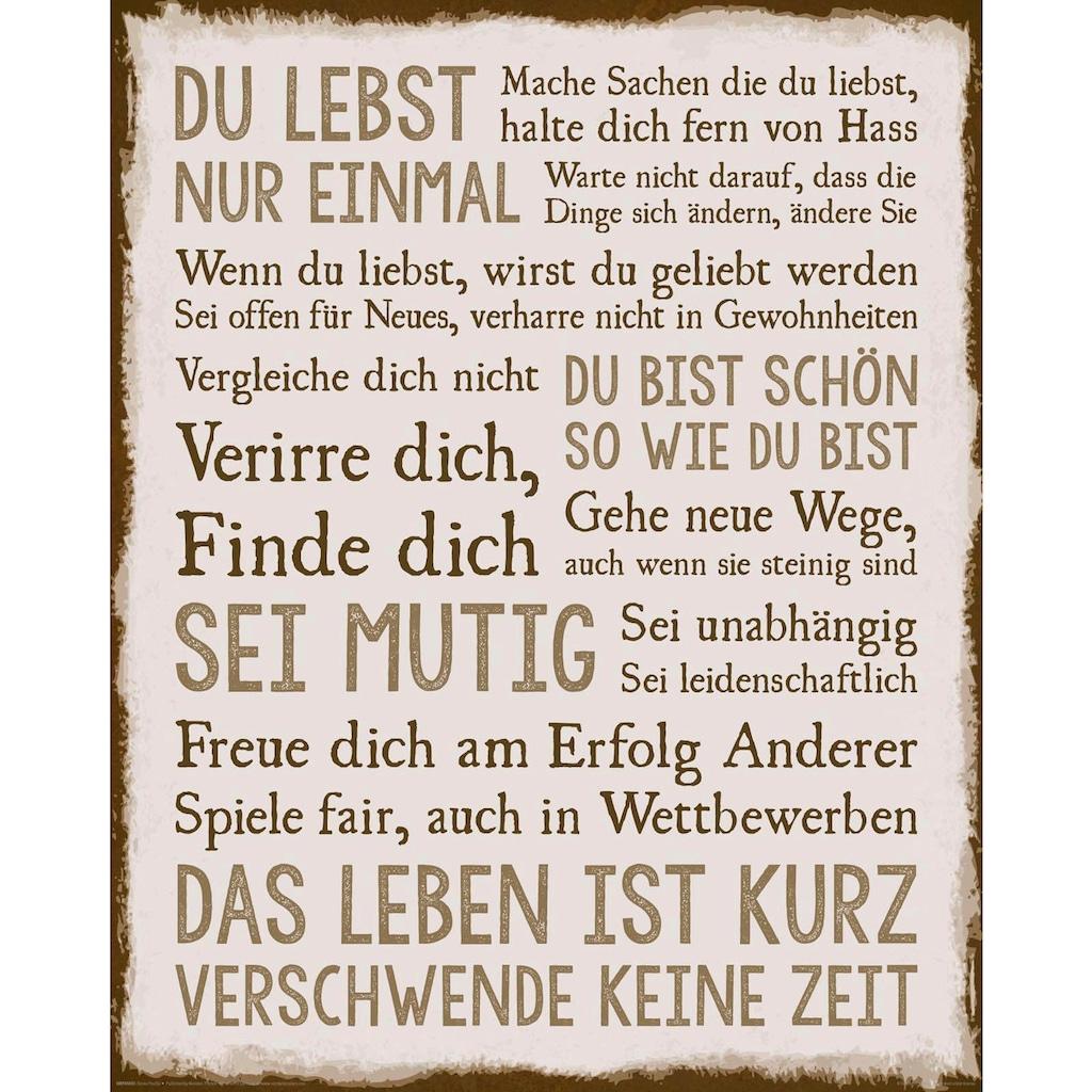 Reinders! Deco-Panel »Das Leben«