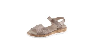 Sandale mit Kork - Einsatz kaufen