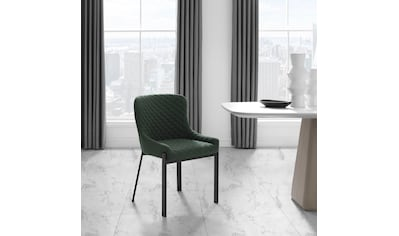 Places of Style Esszimmerstuhl »Medford«, 2er-Set, Sitz und Rücken gepolstert,... kaufen